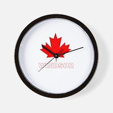 Windsor, Ontario Wall Clock