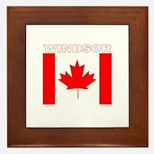 Windsor, Ontario Framed Tile