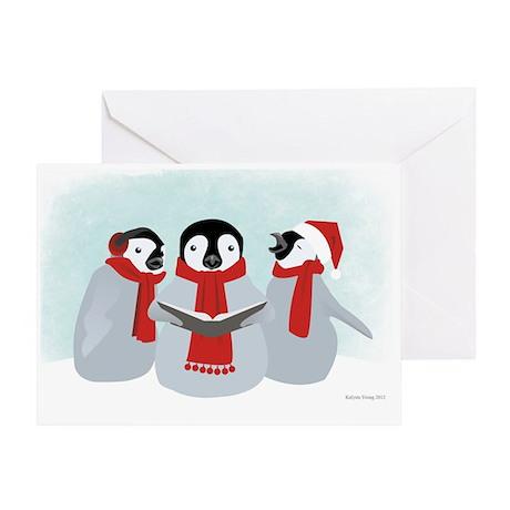 Penguin Christmas Greeting Card