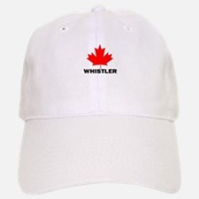 Whistler, British Columbia Baseball Baseball Cap