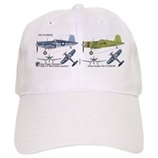 F4U Corsair Pappy Boyington Black Sheep Baseball Cap