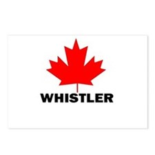 Whistler, British Columbia Postcards (Package of 8