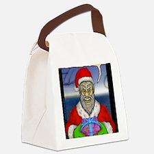 Evil Santa (I Know) Canvas Lunch Bag