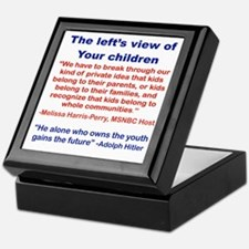THE LEFTS VIEW OF YOUR CHILDREN Keepsake Box