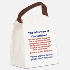 THE LEFTS VIEW OF YOUR CHILDREN Canvas Lunch Bag