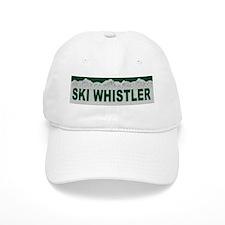 Ski Whistler, British Columbi Baseball Cap