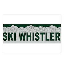 Ski Whistler, British Columbi Postcards (Package o
