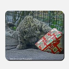 Snow Leopard and Present Mousepad