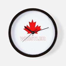 Whistler, British Columbia Wall Clock