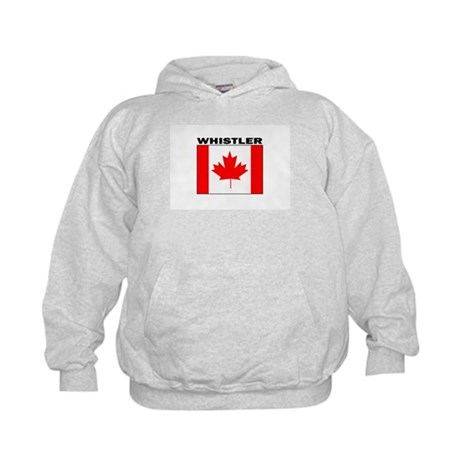 Whistler, British Columbia Kids Hoodie
