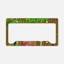 Tropical Drinks License Plate Holder