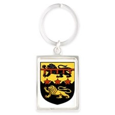 Johnathan Wessel Arms Portrait Keychain