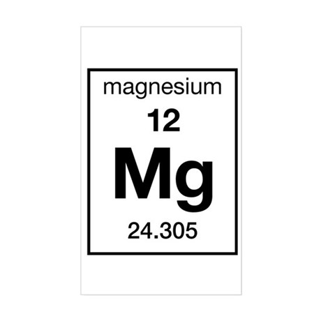 Magnesium Element Bumper Stickers   Car Stickers, Decals, & More