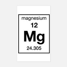 Magnesium Rectangle Decal