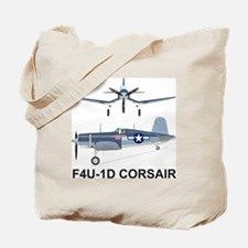 F4U Corsair Pappy Boyington Black Sheep Tote Bag