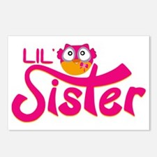 Lil Sister Owl Postcards (Package of 8)