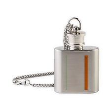 Ireland Flag Flask Necklace