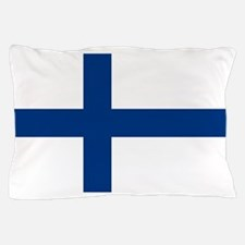 Finland/Suomi Flag Pillow Case