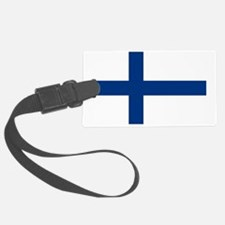 Finland/Suomi Flag Luggage Tag