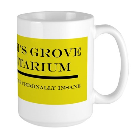 Smiths Grove Sanitarium Bumper Sticker Large Mug