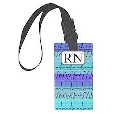 RN case blue Luggage Tag
