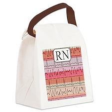 RN case reds Canvas Lunch Bag