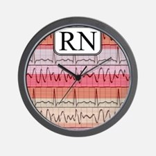 RN case reds Wall Clock