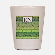 RN case green Shot Glass