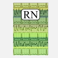 RN case green Postcards (Package of 8)