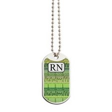 RN case green Dog Tags
