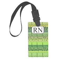 RN case green Luggage Tag