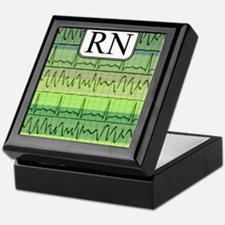RN case green Keepsake Box