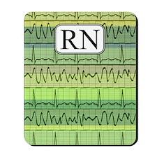 RN case green Mousepad