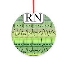 RN case green Round Ornament
