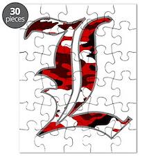 L Camo Puzzle