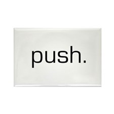 Push Rectangle Magnet (100 pack)