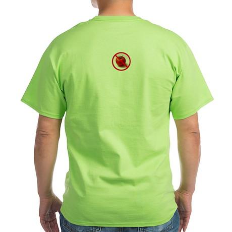 Make Tomatoes History Green T-Shirt