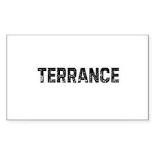 Terrance Rectangle Decal