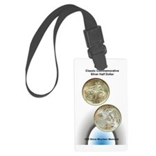 Stone Mountain Memorial Half Dol Luggage Tag