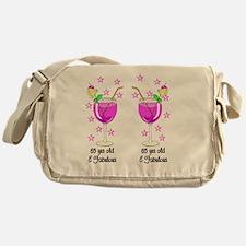 SEXY 65 YR OLD Messenger Bag