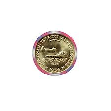 Wisconsin Territorial Centennial Half  Mini Button