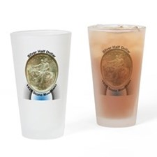 Stone Mountain Memorial Half Dollar Drinking Glass
