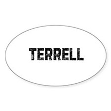 Terrell Oval Decal
