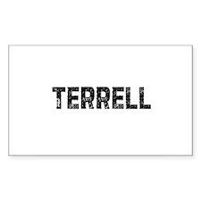 Terrell Rectangle Decal