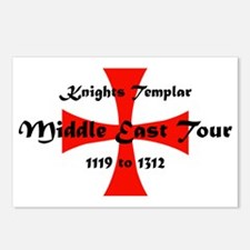 Knights Templar world Tou Postcards (Package of 8)