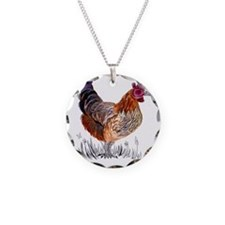 Water Colour Chicken Necklace