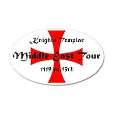 Knights Templar world Tour Wall Decal