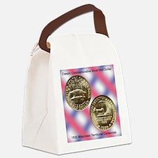 Wisconsin Territorial Centennial  Canvas Lunch Bag