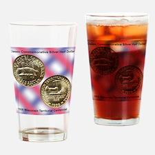 Wisconsin Territorial Centennial Ha Drinking Glass