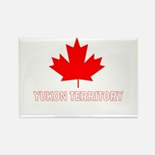 Yukon Territory Rectangle Magnet